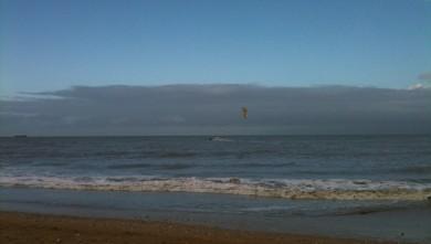 Surf report FR, Franceville (14) du 2009-12-06 11:00:00