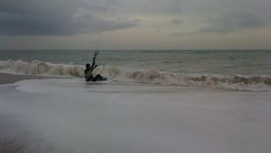 Surf report FR, Palavas-les-Flots - Le Prevost (34) du 2009-12-06 17:37:00