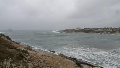 wave report FR, Plage du Verdon (13) du 2009-12-21 16:30:00