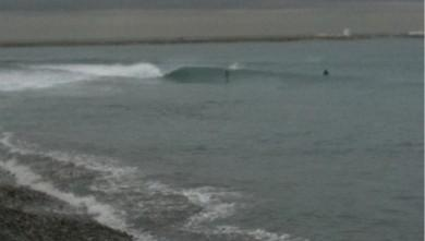 Surf report FR, Saint-Laurent-du-Var - Plage Cousteau (06) du 2009-12-22 13:00:00