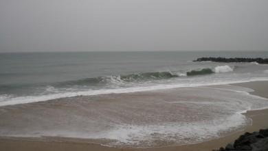 Surf report FR, Anglet Sables d'Or (64) du 2009-12-23 10:00:00