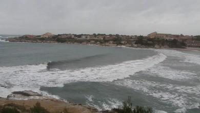 Surf report FR, La Couronne (13) du 2009-12-23 17:00:00