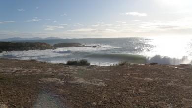 Surf report FR, L'Arquet (13) du 2009-12-25 11:00:00