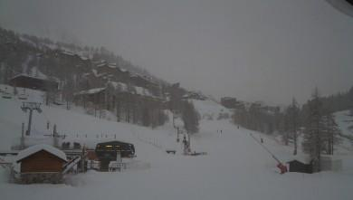 snow report FR, Isola 2000 (06)