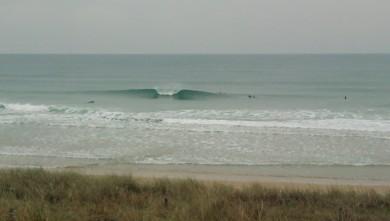 Surf report FR, Lacanau Océan - La Nord (33) du 2010-01-10 12:00:00