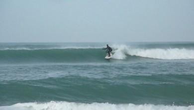 Surf report FR, Carcans Océan (33) du 2010-01-19 11:00:00