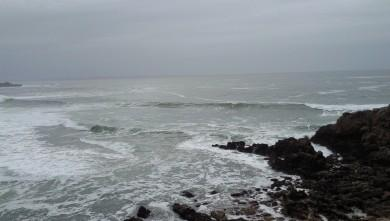 Surf report FR, Quiberon - Port Blanc (56) du 2010-01-21 15:00:00