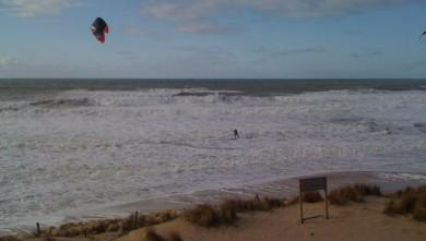 Wind report FR, Lacanau Océan - La Nord (33) du 2010-01-30 12:00:00