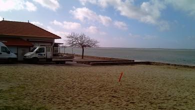 Wind report FR, Arcachon - Les Arbousiers (33) du 2010-02-06 14:00:00