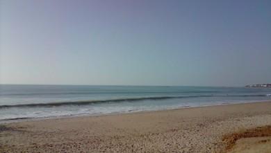 Surf report FR, Plage des Dunes (85) du 2010-02-16 16:00:00