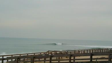 Surf report FR, Lacanau Océan - La Nord (33) du 2010-02-16 17:00:00