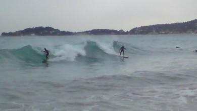 Surf report FR, Les douaniers (06) du 2010-02-19 15:00:00