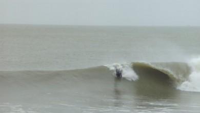 Surf report FR, Soulac - L'Amélie (33) du 2010-02-27 14:00:00