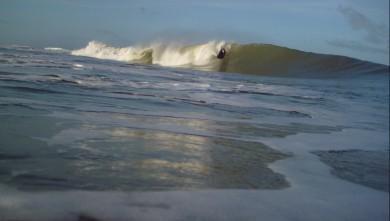 Surf report FR, Soulac - L'Amélie (33) du 2010-04-05 08:00:00