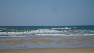 Surf report FR, Lacanau Océan - La Sud (33) du 2010-04-05 15:00:00
