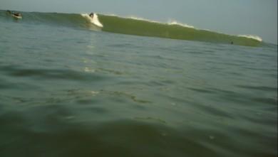 Surf report FR, Lacanau Océan - La Nord (33) du 2010-04-09 09:00:00