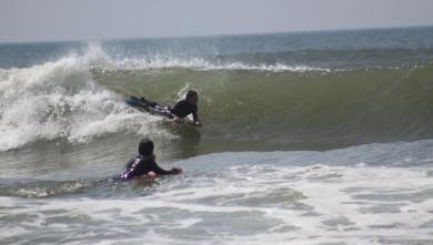 Surf report FR, Lacanau Océan - La Nord (33) du 2010-04-09 15:00:00