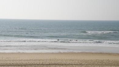 Surf report FR, Vieux Boucau (40) du 2010-04-09 18:00:00