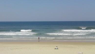 Surf report FR, Biscarrosse Plage (40) du 2010-04-12 14:00:00