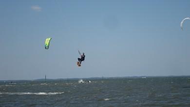 Wind report FR, Biscarrosse Plage (40) du 2010-04-12 15:00:00