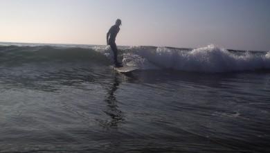 Surf report FR, Carcans Océan (33) du 2010-04-19 18:00:00