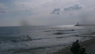 wave report FR, Sausset les Pins - Plage du Port (13) du 2010-05-02 17:00:00