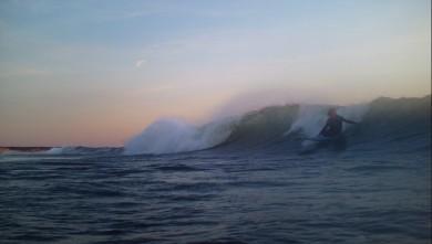 Surf report FR, Soulac sur Mer (33) du 2010-05-22 20:00:00
