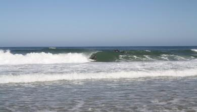 Surf report FR, Lacanau Océan - La Nord (33) du 2010-07-18 08:00:00