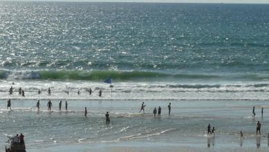 Surf report FR, Lacanau Océan - La Sud (33) du 2010-08-03 18:00:00