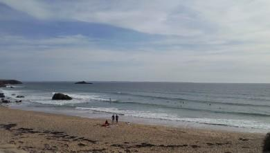 Surf report FR, Quiberon - Port Blanc (56) du 2010-09-13 18:00:00