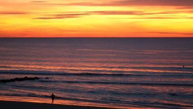 Surf report FR, Lacanau Océan - La Nord (33) du 2010-10-21 18:00:00