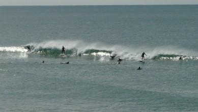 Surf report FR, Lacanau Océan - La Sud (33) du 2010-10-21 16:00:00