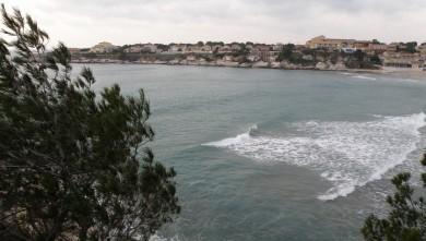 Surf report FR, Plage du Verdon (13) du 2010-01-09 16:00:00