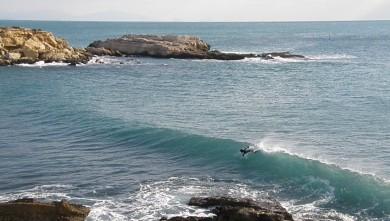 Surf report FR, L'Arquet (13) du 2010-01-10 13:15:00