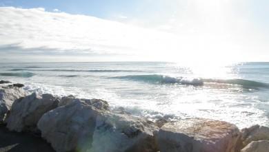 Surf report FR, Sausset les Pins - Plage du Port (13) du 2010-01-13 12:15:00