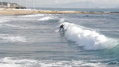 Surf report FR, Sausset-les-Pins - L'Hermitage (13) du 2010-01-13 12:20:00