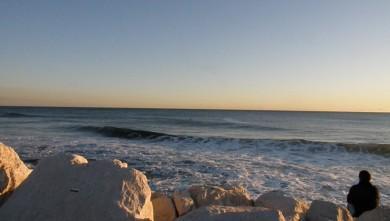 Surf report FR, Sausset les Pins - Plage du Port (13) du 2010-01-15 17:00:00