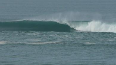 Surf report FR, Mimizan - Plage Garluche (40) du 2010-01-22 12:10:00