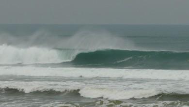 Surf report FR, Mimizan - Plage Garluche (40) du 2010-01-23 11:00:00