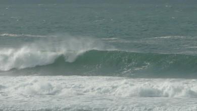 Surf report FR, Mimizan - Plage Garluche (40) du 2010-01-24 14:00:00