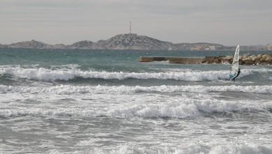 Surf report FR, Le Prado (13) du 2010-01-29 14:45:00