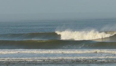 Surf report FR, Mimizan - Plage Garluche (40) du 2010-01-31 09:00:00