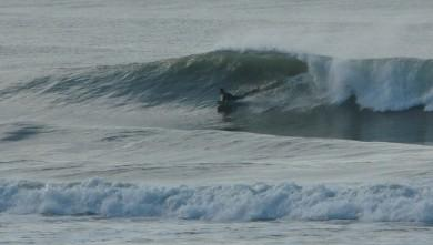 Surf report FR, Mimizan - Plage Garluche (40) du 2010-01-31 15:00:00