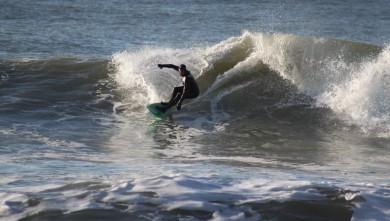 Surf report FR, Lacanau Océan - La Nord (33) du 2010-01-31 15:30:00