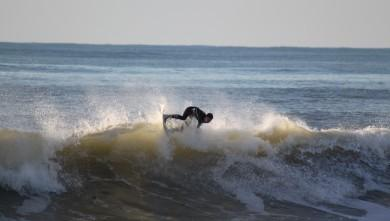 Surf report FR, Lacanau Océan - La Nord (33) du 2010-01-31 16:30:00