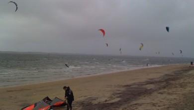 Surf report FR, Arcachon - Les Arbousiers (33) du 2010-02-06 14:25:00