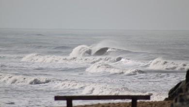 Surf report FR, Soulac - L'Amélie (33) du 2010-02-07 14:00:00