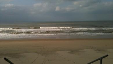 Surf report FR, Hourtin Océan - La Centrale (33) du 2010-02-12 13:01:00