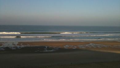 Surf report FR, Hourtin Océan - La Centrale (33) du 2010-02-16 09:00:00