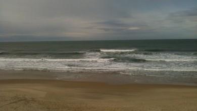 Surf report FR, Hourtin Océan - La Centrale (33) du 2010-02-21 11:05:00